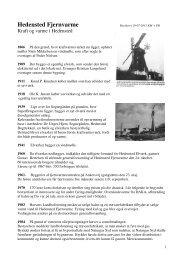 Fjernvarmens historie - Hedensted Fjernvarme