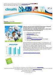 Climalife Newsletter 2013_07