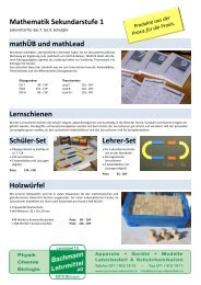 Mathe Lehrmittel