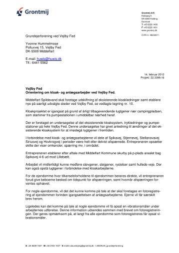 Grundejerforening ved Vejlby Fed Yvonne Hummelmose Polluxvej ...