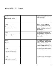 Årsplan – Historie 4.a og 4.b 2012/2013 - Nr. Lyndelse Friskole
