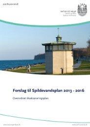 Overordnet saneringsplan - Forslag til Spildevandsplan ... - Aarhus.dk
