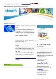 Climalife Newsletter 2013_06