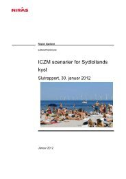 ICZM scenarier for Sydlollands kyst - Klimatilpasning