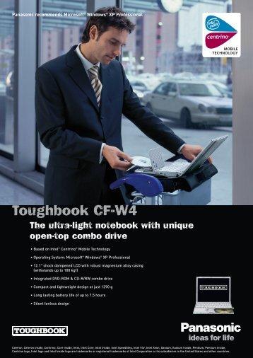 Toughbook CF-W4 - John Meister