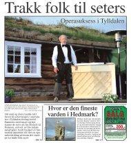 Operasuksess i Tylldalen - Lars Eggen