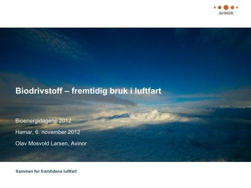 Last ned foredrag - Bioenergidagene 2012