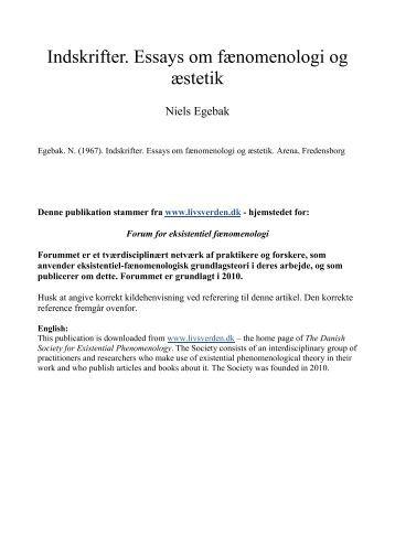 Buffett essay