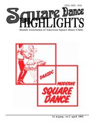 Highlights nr. 2 - 2002 - Danish Association of American Square ...
