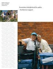 Fremtidens boligforhold for ældre - Konference rapport - KAB