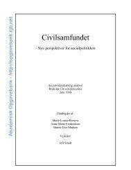 3. Civilsamfundet - Akademisk Opgavebank