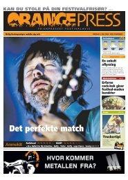 Orange Press - Roskilde Festival