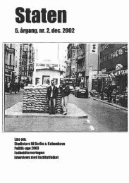 December 2002, årgang 5, nr. 2 - STATEN