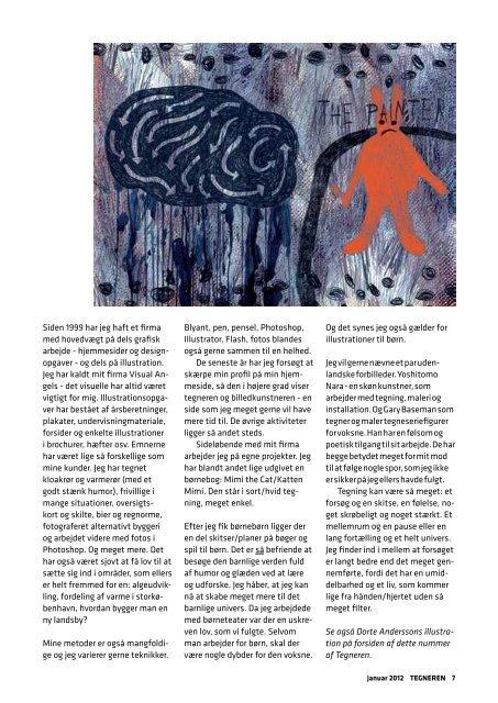 2012 TEGNEREN, medlemsblad Om at tegne i retsale ... - Tegnerne