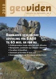 danmarks geologiske udvikling fra 1.450 til 65 mio. år før nu
