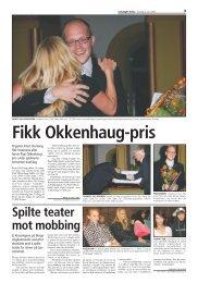 Reportasje fra konserten i Levanger-Avisa 3.juli ... - Paul Okkenhaug