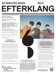 60 minutes of Efterklang avis / 9. - Copenhagen Phil