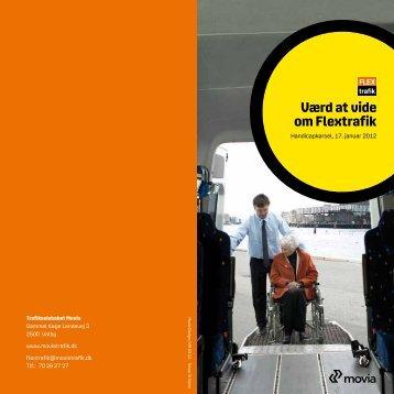 Værd at vide om Flextrafik - Movia