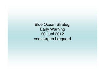 Jørgen Lægaards præsentation om Blue Ocean Strategi