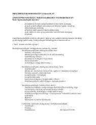 PRINCIPPER FOR HØJBOSKOLEN revideret 06 / 07 1 ...