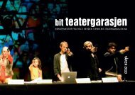 VÅREN 2010 - BIT Teatergarasjen