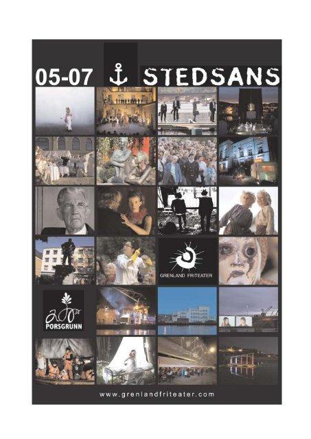 Stedsans-rapport 2008 - Grenland Friteater