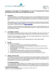 Lokalaftale om principper for lønfastsættelse, Ny Løn for ikke ...