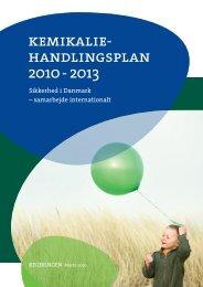 Kemikaliehandlingsplan 2010 - Miljøstyrelsen
