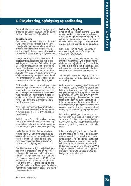 Boliger i ældre erhvervsbygninger - Byfornyelsesdatabasen