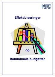 Effektiviseringer og kommunale budgetter - KTO