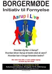 Initiativ til Fornyelse - Aarup i Live