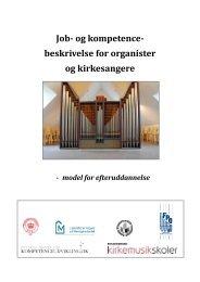 Job - Organistforeningen