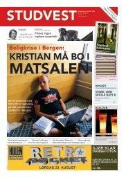 KRISTIAN MÅ BO I - Studvest