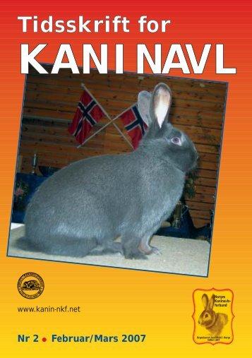TK nr. 2 - Norges Kaninavlsforbund