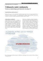 Hent Mads K Holst og Helle Juel Jensens artikel her