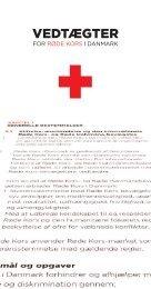Vedtægter - Røde Kors