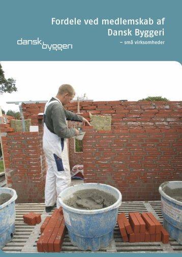Fordele ved medlemskab af Dansk Byggeri