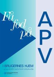 APV i brugerens hjem - Kommunernes Landsforening