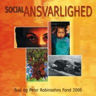 Susi og Peter Robinsohns Fond 2000