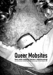 Queer mobile computing. Queerteori i interaktionsdesign