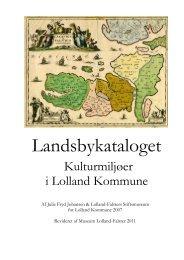 Se Landsbykataloget her - Åbne Samlinger