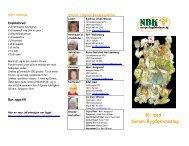 Se vår brosjyre for mer informasjon - Bygdekvinnelaget