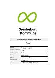 06. maj - Augustenborg Skole