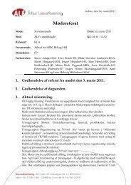 Referat fra den 10. marts 2011 - Århus Lærerforening - kreds 133