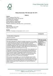 Bestyrelsesmøde, 18.1.2011 Referat af bestyrelsesmøde ... - FSC