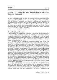 Kapitel 2 - Bakterier som huvudsakligen infekterar kroppen via skador
