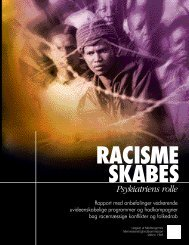 Racisme skabes psykiatriens rolle - mmk.info