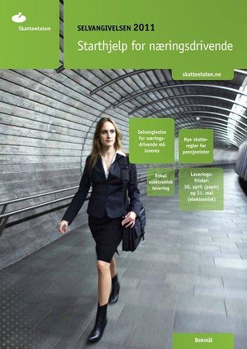 Starthjelp for næringsdrivende 2011.pdf - Skatteetaten