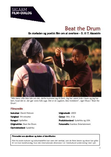 Beat the Drum Beat the Drum - Salaam DK