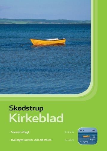 Kirkeblad 2, 2013. pdf - Skødstrup Kirke